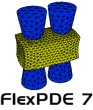 FlexPDE7 Professional 3D Academic - 2D upgrade